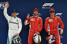 Formel 1, Favoriten-Check China: Ferrari-Pole teuer erkauft?