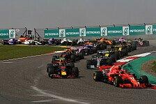 Formel 1 China 2019 live: TV-Programm RTL & Sky, Zeitplan