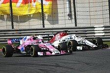 Formel 1, Sauber vs. Force India: Die WM wird noch einmal eng