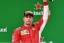 Formel 1 China - Kimi Räikkönen: Schmerz überwiegt Happy End