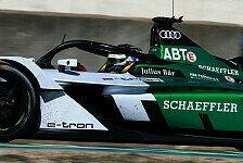 Formel E: Audi testet neues Generation-2-Auto in Calafat