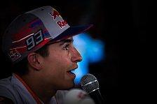 Marc Marquez: JL, AD und DP Gentlemen, Rossi spielt mit Medien