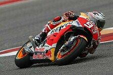 MotoGP Austin 2019: Marc Marquez schnappt sich Bestzeit im FP1
