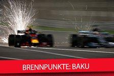 Formel 1, Baku 2018: Die wichtigsten Fragen vor Aserbaidschan