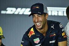 Formel 1 2018: Daniel Ricciardo nach China-Sieg operiert