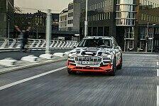 Audi e-tron: Erstes Auto mit Schnellladung bis zu 150 kW