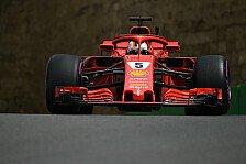 Baku: Vettel fährt im 1. Training hinterher, Verstappen-Crash