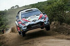 WRC Rallye Argentinien 2018: Toyota-Pilot Ott Tänak führt