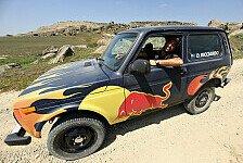 Formel 1: Aserbaidschan - Ricciardo und Verstappen im Lada Niva