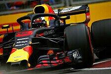 Formel 1 Baku: Red Bull im 2. Training vor Ferrari und Mercedes