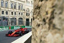 Formel 1 Baku 2018 - Kimi Räikkönen: Bin Vollgas an die Mauer