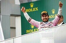 Formel 1, Offiziell: Sergio Perez bleibt 2019 bei Force India
