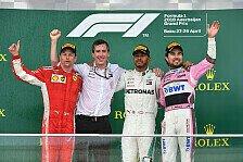 Formel 1 2018: Aserbaidschan GP - Podium