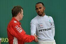 F1, Hamilton rudert zurück: Ferrari-Theorie war 'dummer Scheiß'