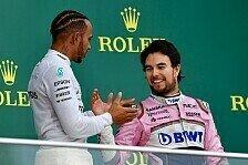 Racing Point mit Podestgarantie? Perez und Stroll heiß auf Baku