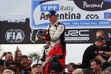 WRC 2018: Tänak gewinnt Argentinien-Rallye