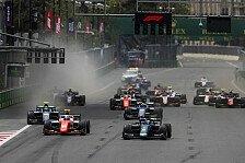 Formel 2: Safety-Car-Starts nach peinlichen Start-Pannen