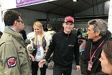 Glücksbringer Steffi: Maro Engel mit bestem Formel-E-Ergebnis
