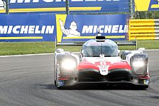 Le Mans: Toyota holt Trainingsbestzeit, Porsche dominiert GT
