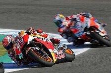 MotoGP Thailand: Marquez schlägt Dovizioso in letzter Kurve