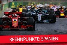 Formel 1 Spanien 2018: Barcelona-Brennpunkte zum Update-Rennen