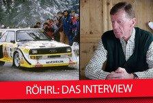 WRC - Video: Rallye-Legende Walter Röhrl: Das große Interview