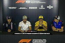 Formel 1 2018: Spanien GP - Donnerstag