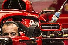 Formel 1 Spanien: Ferrari verblüfft mit Winglet-Spiegel am Halo