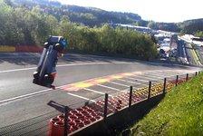 Spa-Unfall im Video: LMP1-Auto überschlägt sich mehrfach