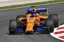 F1, Alonso feiert Spanien-Updates: Bester Freitag für McLaren
