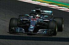 F1, Spanien: Hamilton im 2. Training vorne, Defekt bei Ferrari