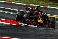 Formel 1 Spanien: Red Bull durch Upgrade schwieriger zu fahren