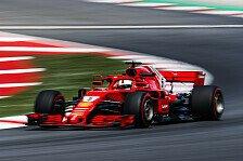 Formel 1 Spanien: Vettel lobt Ferrari-Update, Räikkönen zittert