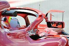 Formel 1: Ferraris Winglet-Spiegel am Halo doch vor Verbot?