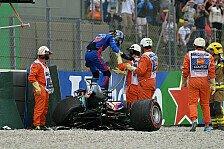 Formel 1, Hartley beweist Galgenhumor: Hatte die besten Crashes