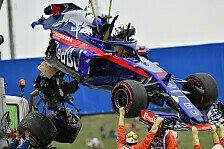Formel 1 2018: Spanien GP - Brendon Hartley Crash in P3