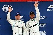 Formel 1 Barcelona - Bottas rettet sich: Fast Pole nach Patzer