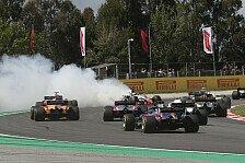 Formel 1: Grosjean-Crash bestraft, Haas tobt: Tritt ins Gesicht