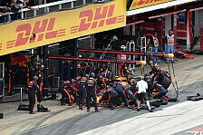 DHL Fastest Pit Stop Award: Red Bull gibt in Barcelona Ton an