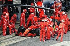 Formel-1-Rennanalyse Barcelona: War Vettels Stopp notwendig?