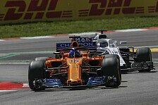 Alonso rettet Punkte: Nach Start-Chaos nicht mehr dran geglaubt