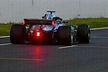 Formel 1, Mercedes testet neue Heckflügel-Lichter