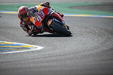 MotoGP Le Mans 2018: Marc Marquez dominiert Warm Up