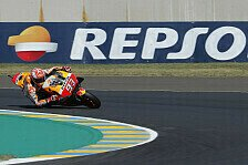 MotoGP Le Mans 2018: Marquez siegt, Dovizioso und Zarco stürzen