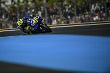 MotoGP Le Mans: Platz drei keine Trendwende für Valentino Rossi