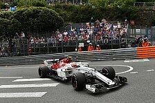 Formel 1 Monaco, Sauber: Ericsson wegen Leclerc-Ausritt raus