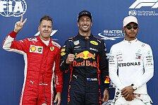 Formel 1 2018: WM-Kampf Vettel, Hamilton unberechenbar wie nie