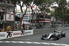 Monaco GP 2018, Statistiken: 55. Sieg aus den Top-Drei