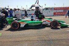 IndyCar - Rene Binder bereit für zwei Renneinsätze in Detroit
