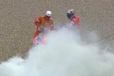 MotoGP Mugello - Andrea Dovizioso: Motorplatzer, defekter Pneu